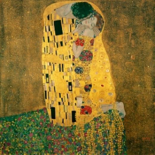 The Kiss - by Gustav Klimt - via