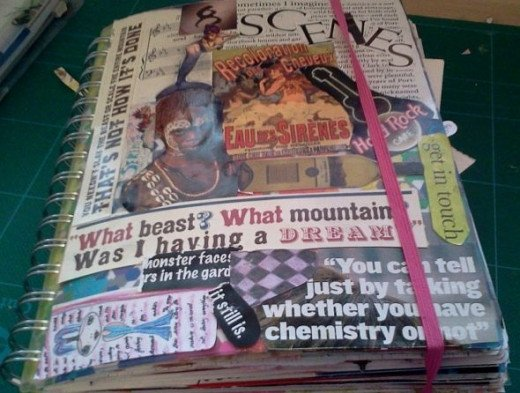 Junk journal cover