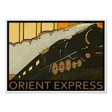 Advertisement for the Orient Express