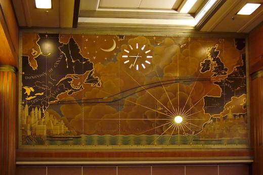 The Mural in the Grand Salon