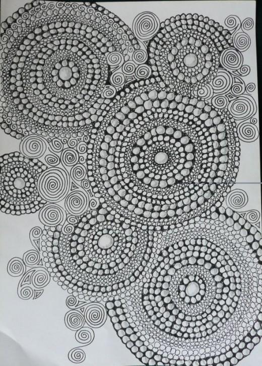 Zentangle Inspired: Circles & Spirals