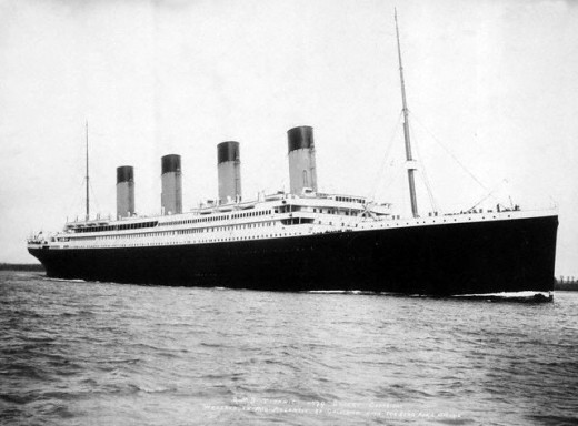 The Titanic was a four funnel Ocean Liner