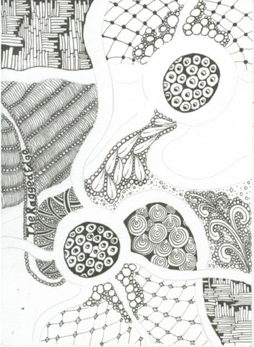 Work in progress, showing 'found' patterns...