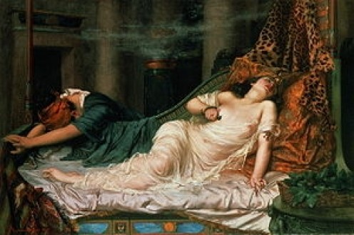 The Death of Cleopatra - Arthur