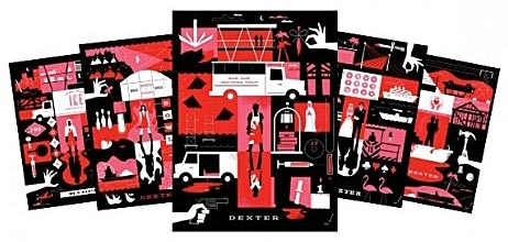 Dexter Posters by Ty Mattson