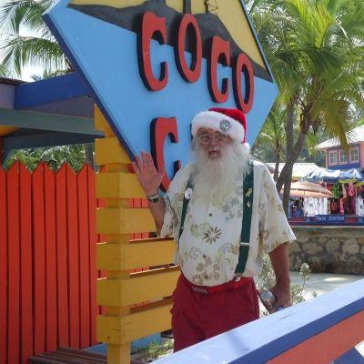 Santa at Coco Cay