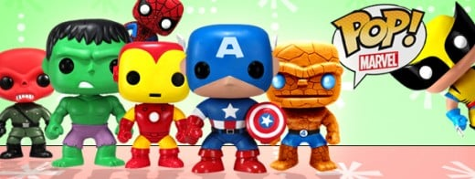 Buy individual characters or a complete set of Marvel comic book Pop Heroes