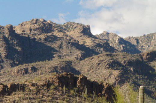 Catalina Mountains, another view.
