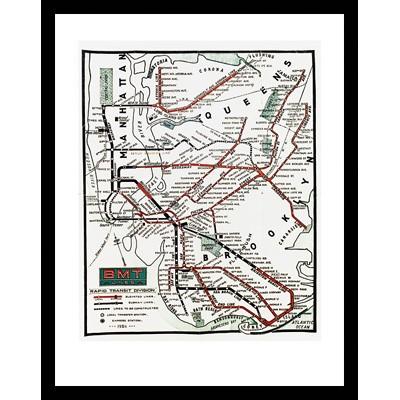 BMT Lines Rapid Transit Division - 1925