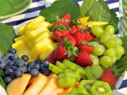 Easy fruit platter