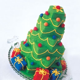 This Looks Awesome: It's A Towering Tree Cake!