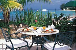 Dining in Barbados