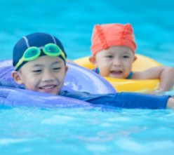 How To Put On A Swimming Cap
