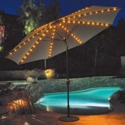Patio Umbrella with Lights