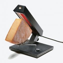 traditional raclette grill