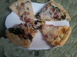 Pizza with Philly Cooking Creme