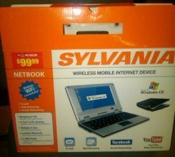 Sylvania Netbook from CVS