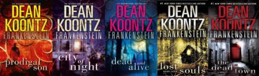 Dean Knootz ~ 5 book series ~ Frankenstien
