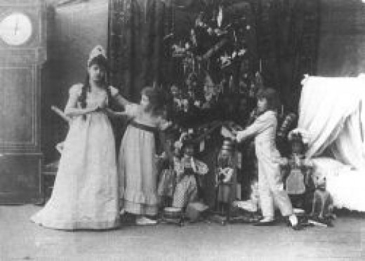 """The Imperial Ballet's original production of the Petipa/Ivanov/Tchaikovsky ballet """"The Nutcracker"""""""