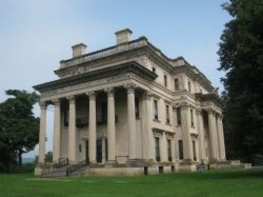 Vanderbilt Mansion in Hyde Park