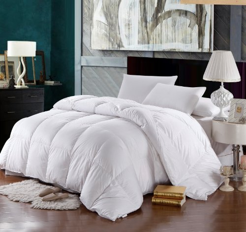 Royal Hotel's 1200 Thread Count California King Size Goose Down Alternative Comforter