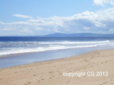 Idyllic Lossiemouth Beach