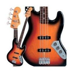 A beautiful Fender Jazz bass signature model.