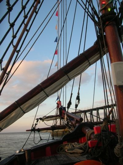 Onboard the Bark Endeavour - Whitby