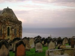 Dracula, Stoker, Gothic Whitby, St Mary's Churchyard