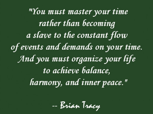 "Brian Tracy's book with the weird title of ""Eat That Frog"" was very helpful to me in learning to manage my time."