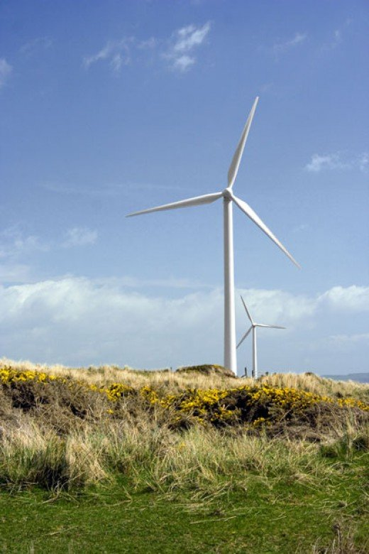 Wind Turbines in Cumbria, UK