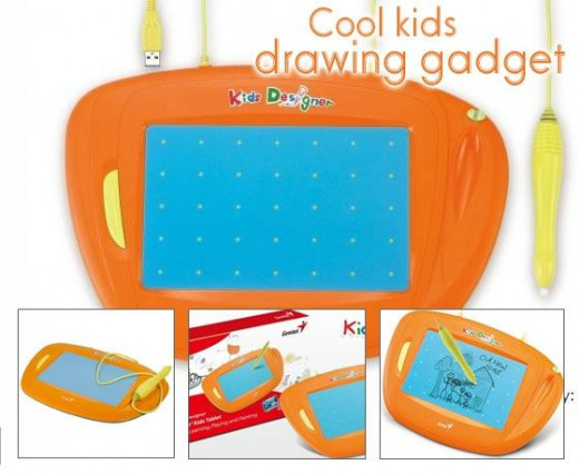 Cool kids drawing tablet from Genius