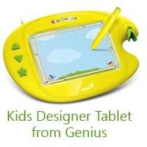 Kids designer tablet