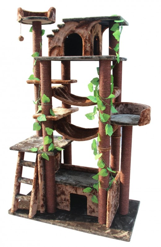 How to make your own cat tower or cat tree pethelpful for How to make a cat tower