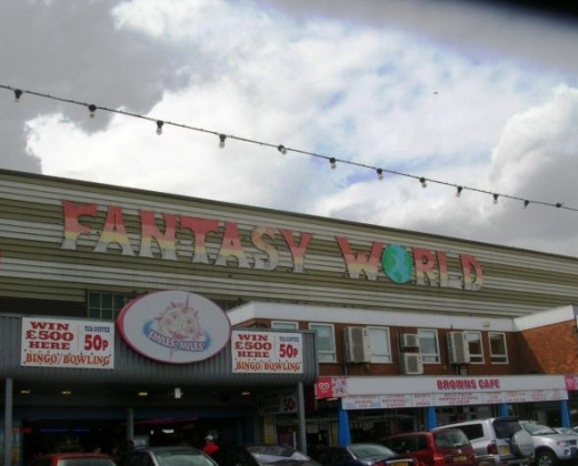 There are many amusement arcades where you can while away the hours if it rains, or if you want to take shelter from the sun even. Fantasy World is just next door to the station!