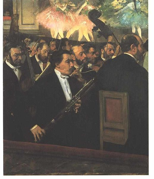 Orchestra at the Opera by Degas