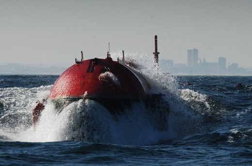 Pelamis Wave Converter in Portugal