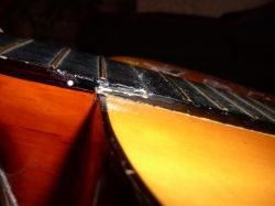 Guitar broken at the 13th fret