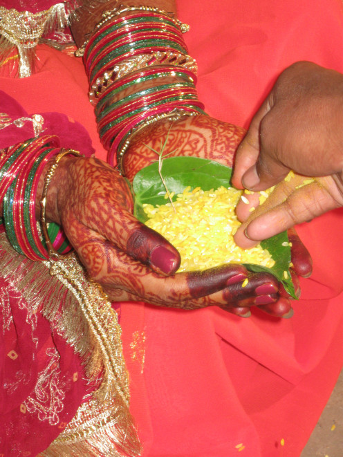 Hindu wedding girl