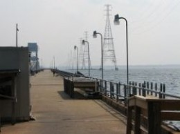 James River Bridge Fishing Pier