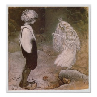 John Bauer Changed by magic Poster by MyOtherPlanet