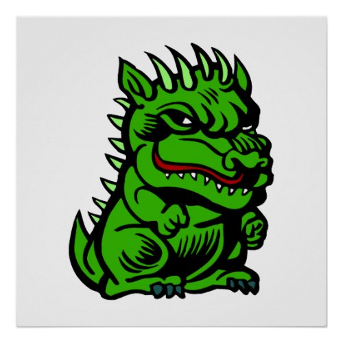 Angry Troll Dragon by dragons_lair