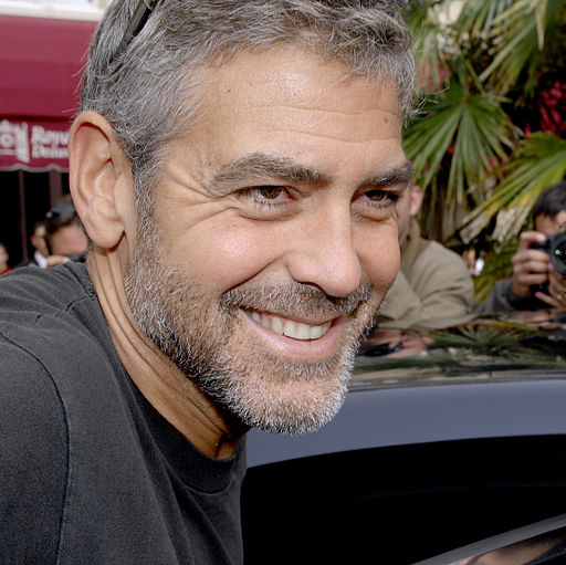 George Clooney is stylish at any age.