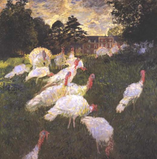 "Claude Monet ""Turkeys"" 1876"
