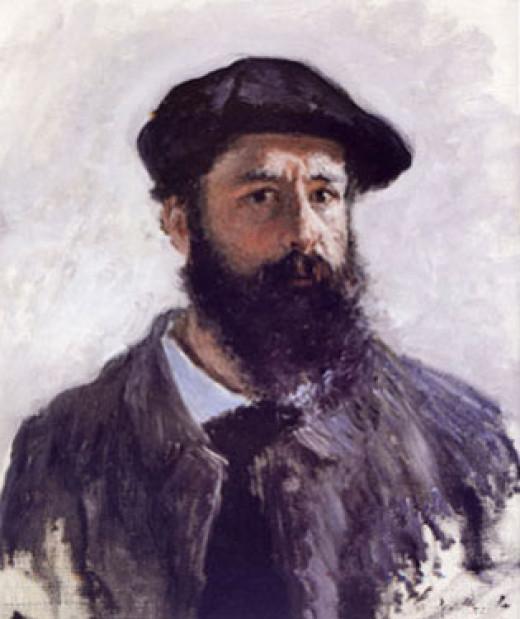 Claude Monet Self-Portrait in Beret 1886, age 26