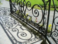How to Paint Wrought Iron Railings With a Brush