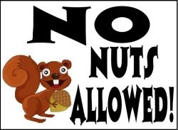 No nuts allowed
