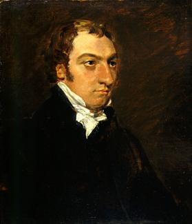 The Bishop's portrait painted by Constable