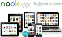 Free Nook Reading apps