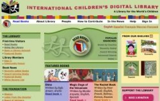 International Children's Digital Library free eBooks